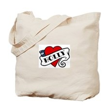 Holly tattoo Tote Bag