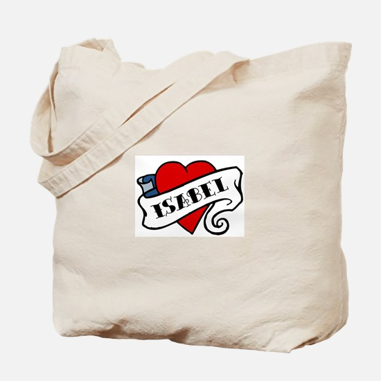 Isabel tattoo Tote Bag