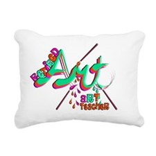 Retired Art TEacher 2011 Rectangular Canvas Pillow