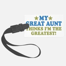 thinksgreatgreataunt-01 Luggage Tag