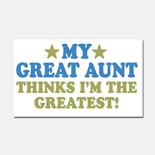 thinksgreatgreataunt-01 Car Magnet 20 x 12