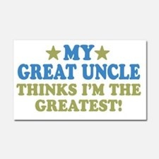 thinksgreatgreatuncle-01 Car Magnet 20 x 12