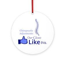 chiropractic_5 Round Ornament
