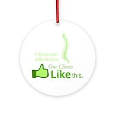 chiropractic_7 Round Ornament