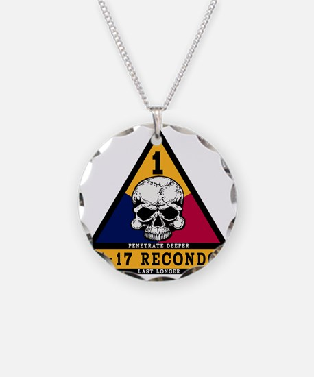 4-17 Recondo Patch 1st AD.gi Necklace