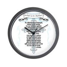 Prayer_StMichael Wall Clock