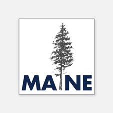 "MaineShirt Square Sticker 3"" x 3"""