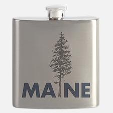 MaineShirt Flask
