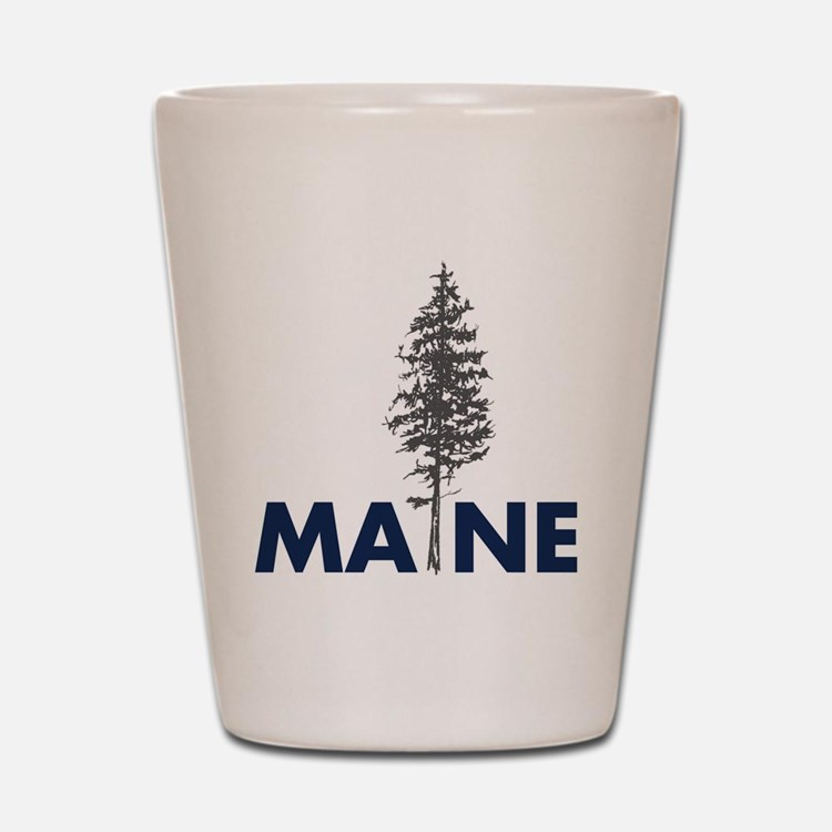 MaineShirt Shot Glass