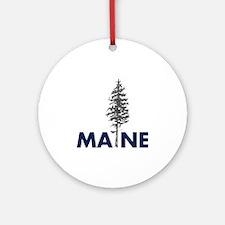 MaineShirt Round Ornament