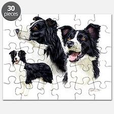 Border Collie Multi Puzzle