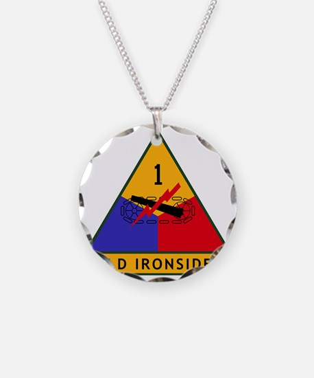 1st_US_Armored_Division_SSI Necklace