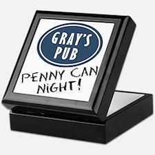 COugar-town_penny-can-night Keepsake Box