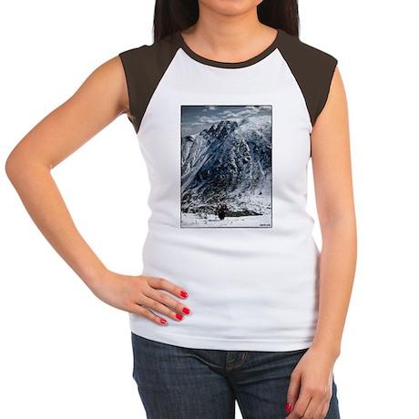 TuckShirtBackColored Women's Cap Sleeve T-Shirt
