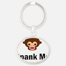 SpankMe Oval Keychain