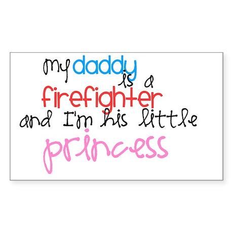 daddysprincess Sticker (Rectangle)