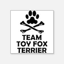 Team Toy Fox Terrier Sticker