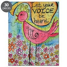let your voice be heard Puzzle