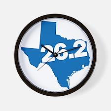Texas Marathoner Wall Clock