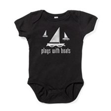 Funny Boat Baby Bodysuit