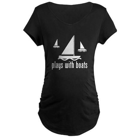 Funny Boat Maternity T-Shirt