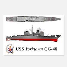 TicoCg-48_Yorktown_Tshirt Postcards (Package of 8)