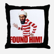 foundosama Throw Pillow