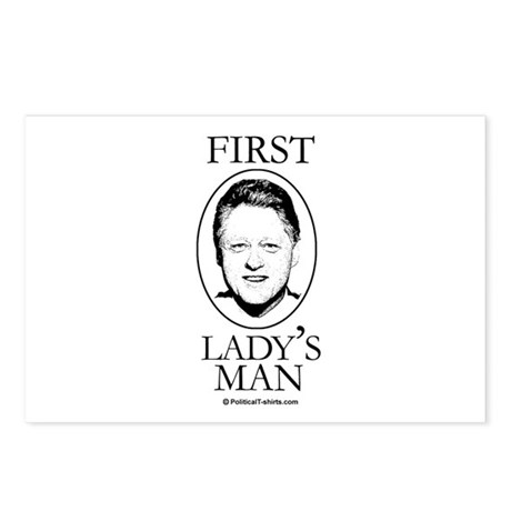 First Lady's Man Postcards (Package of 8)