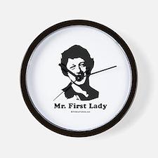 Mr. First Lady Wall Clock