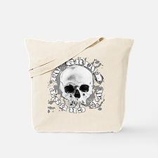In-Grind-We-Crust-Skull Tote Bag