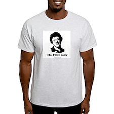 Mr. First Lady Ash Grey T-Shirt