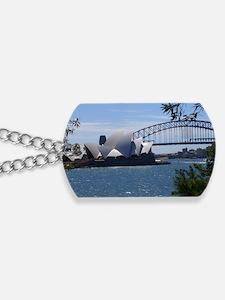 Opera House and Bridge Dog Tags