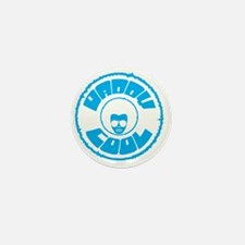 Daddy Cool Rounded Blue Mini Button