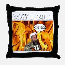 OSAMA2 Throw Pillow