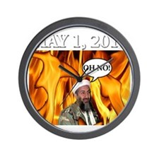 OSAMA2 Wall Clock