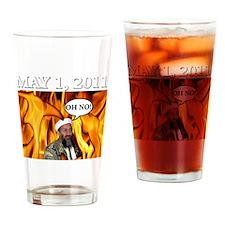 OSAMA2 Drinking Glass