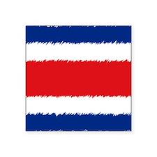 """Coasta Rica Mouse Square Sticker 3"""" x 3"""""""