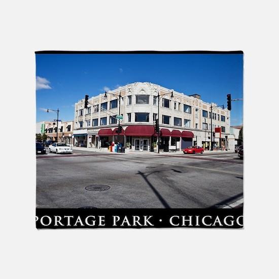 04Sep10_Portage Park_042-POSTER Throw Blanket