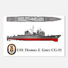 TicoCg-51_ThomasGates_Tsh Postcards (Package of 8)