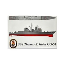 TicoCg-51_ThomasGates_Tshirt_L_10 Rectangle Magnet