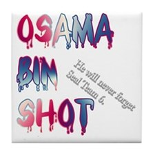 OSAMABINSHOT Tile Coaster