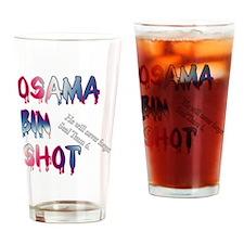 OSAMABINSHOT Drinking Glass