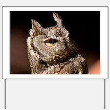 (3) Burrowing Owl Profile Yard Sign
