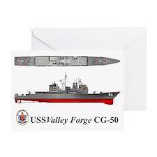 TicoCg-50_Valley_Forge_Tshirt_10x6 Greeting Card