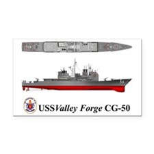 TicoCg-50_Valley_Forge_Tshirt Rectangle Car Magnet