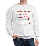 Stock Market Crash Sweatshirt