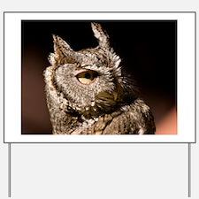 (2) Burrowing Owl Profile Yard Sign