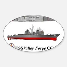 TicoCg-50_Valley_Forge_Tshirt_10x6 Sticker (Oval)