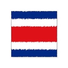 "Costa Rica Orna Square Sticker 3"" x 3"""