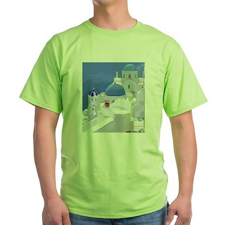 Greece Green T-Shirt